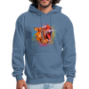 Polygone Tiger Men's Hoodie - denim blue