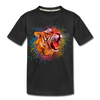 Polygon Tiger Kid's Premium Organic T-Shirt - black