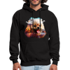 Pomeranian Dog Men's Hoodie - black