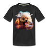 Pomeranian Dog Kid's Premium Organic T-Shirt - black