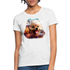 Pomeranian Dog Women's T-Shirt - white
