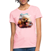 Pomeranian Dog Women's T-Shirt - pink