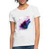 Polygon Wolf Women's T-Shirt - white