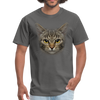 Harry the cat Men's T-Shirt - charcoal