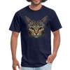 Harry the cat Men's T-Shirt - navy