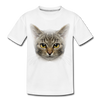 Harry the cat Kid's Premium Organic T-Shirt - white