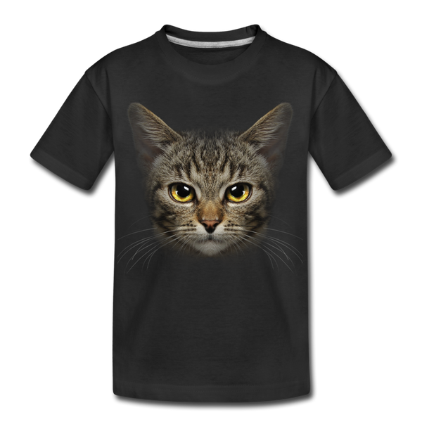 Harry the cat Kid's Premium Organic T-Shirt - black