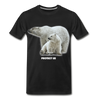 Polar Bear Protect US Organic T-Shirt - black
