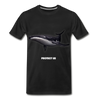 Blue Whale Protect US Organic T-Shirt - black