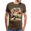 Farm Pigs Men's Premium T-Shirt - noble brown