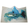 Great White Shark Hooded Blanket