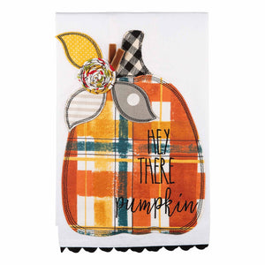 Tea Towel | Hey There Pumpkin