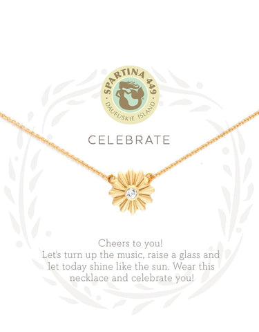 Sea La Vie Necklace | Celebrate Sunburst Gold