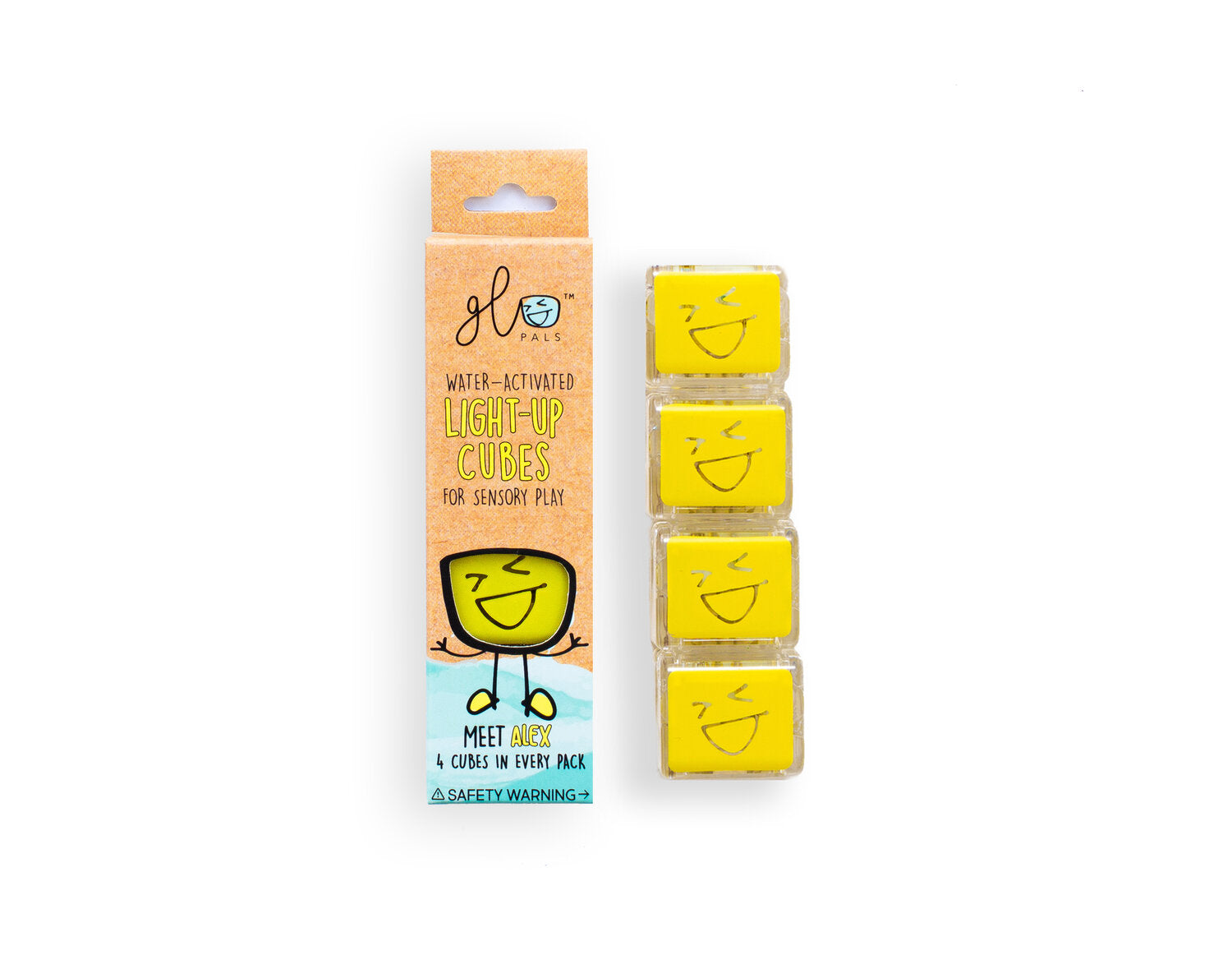 Glo Pals | Alex (Yellow)