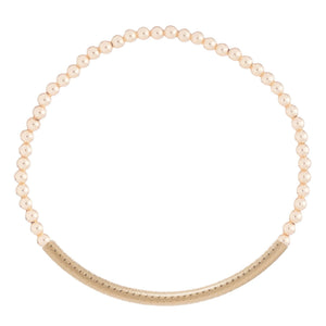 Bracelet | Gold Bliss Bar 3mm