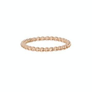 Ring | Classic Gold 2mm Bead