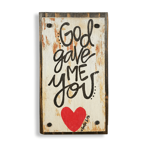 God Gave Me You | Happy Block