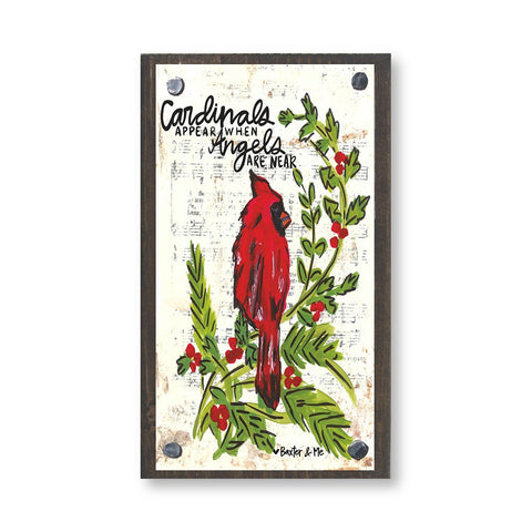 Cardinal | Happy Block