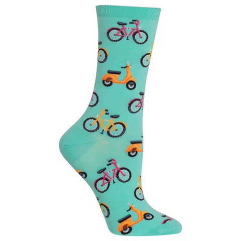 Womens Socks | Bike Mint