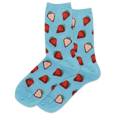 Womens Socks | Strawberry