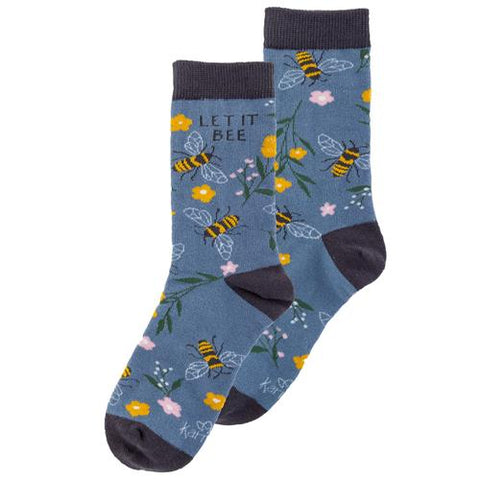 Blue Bee | Crew Socks