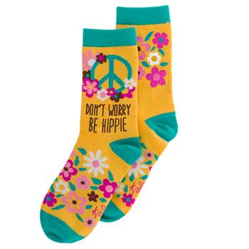 Hippie | Crew Socks