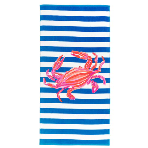 Beach Towel | Crab