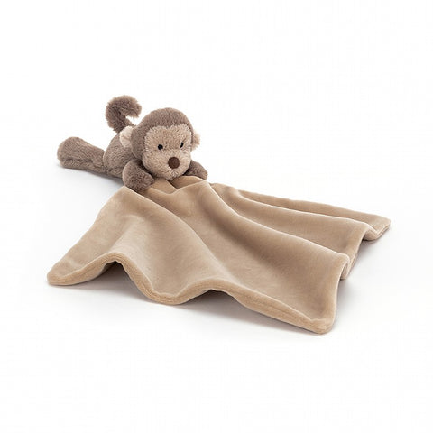 Plush Soother | Bashful Monkey