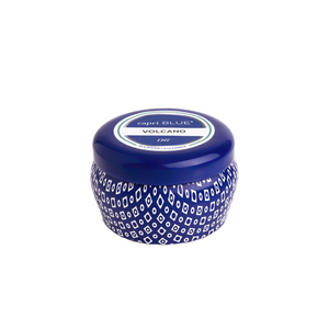 Volcano Mini Tin Candle | Blue