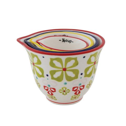 Measuring Cups Floral