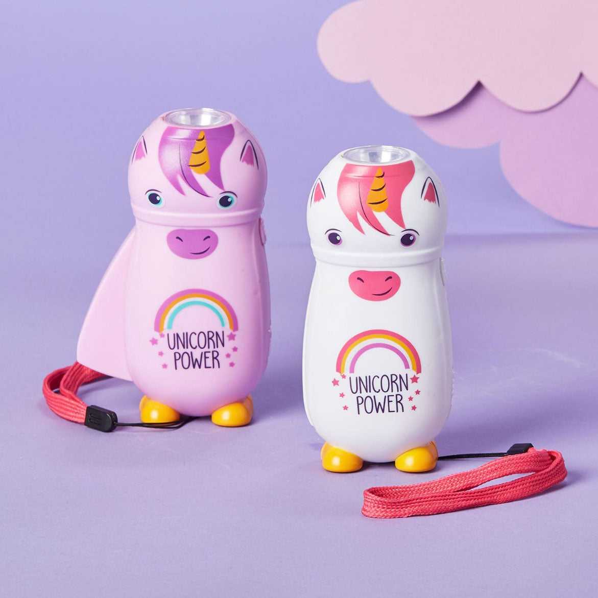 Rechargeable Unicorn Flashlight