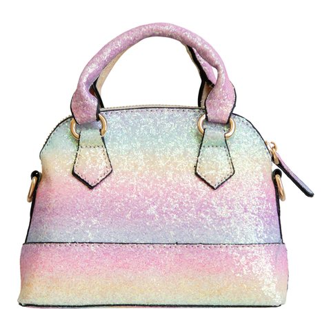 Girl's Purse | Rainbow Glitter