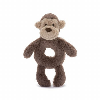 Plush Rattle | Bashful Monkey