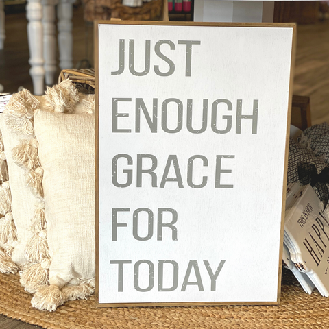 Just Enough Grace Wall Decor