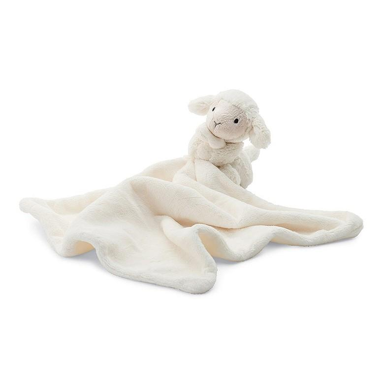 Plush Soother |  Bashful Lamb