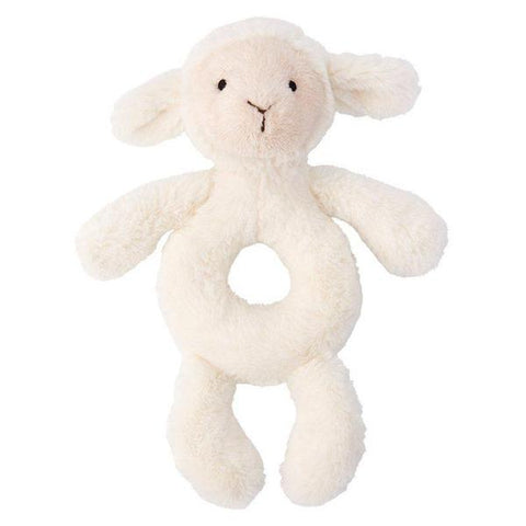 Plush Rattle | Bashful Lamb
