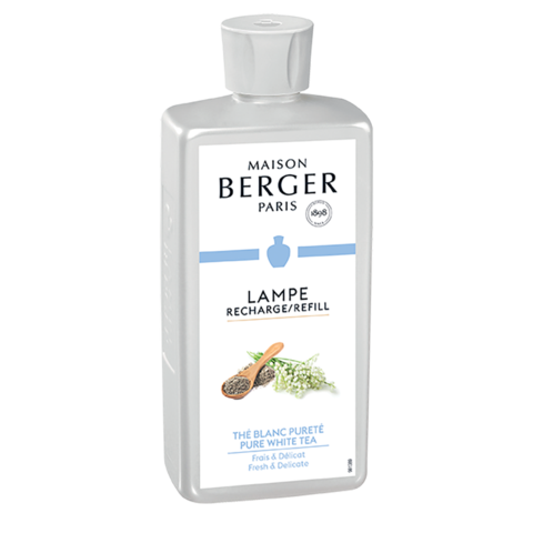 500ML Lamp Berger Oil | Pure White Tea