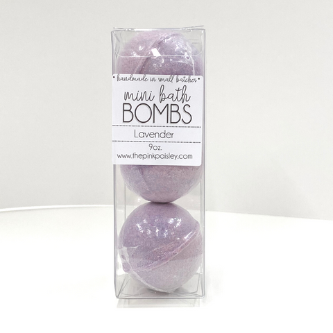 Mini Bath Bomb 3 Pack | Lavender