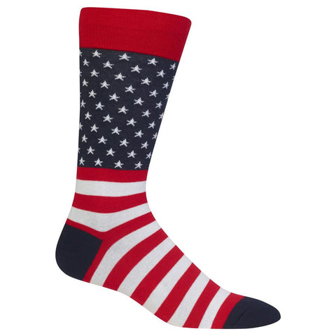 Mens Crew Socks | Flag