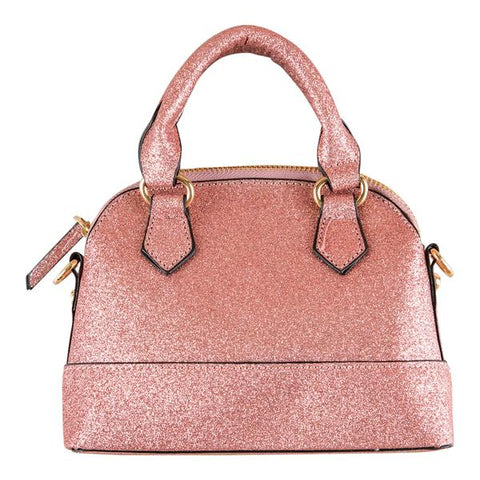 Girl's Purse | Rose Gold Glitter