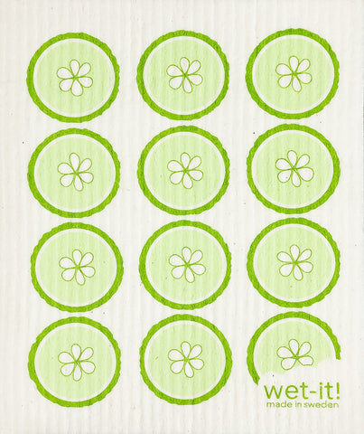Wet It Cloth | Cucumber