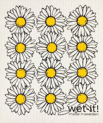 Wet It Cloth | Daisies