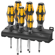 Load image into Gallery viewer, WERA ORANGE 6 PCE SCREWDRIVER SET