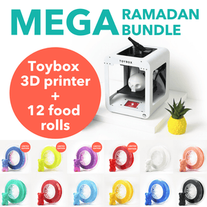 Mega Ramadan Bundle: Toybox 3D Printer + 12 foods