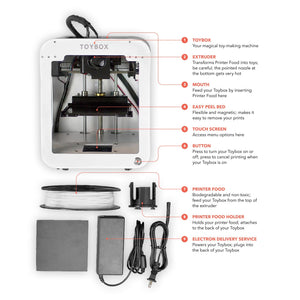 Basic Pack: Toybox 3D Printer + 1 food