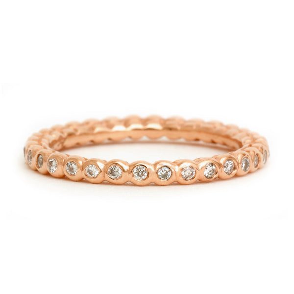 Beaded Eternity Band