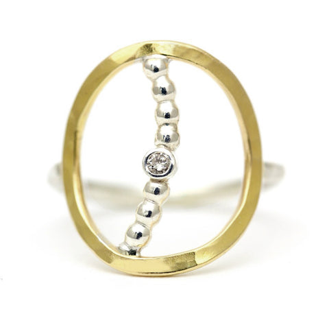 Lux Moon Ring