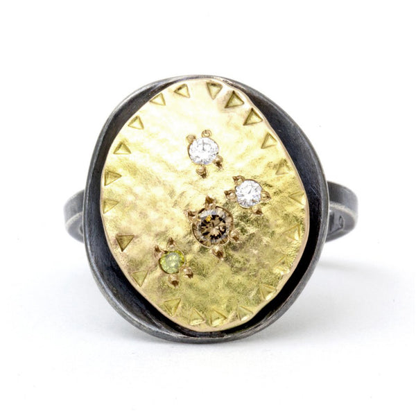 Oyster Ring Gold