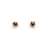 Glimmer Black Diamond Studs