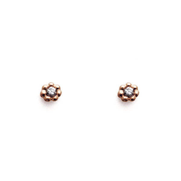 Bloom Studs Gold